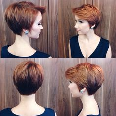 Hottest Pixie Haircuts 2019 - Classic to Edgy Pixie Hairstyles for women Layered long red pixie haircut for women Over long red pixie haircut for women Over Bob Haircuts For Women, Short Layered Haircuts, Short Hairstyles For Women, Short Hair Cuts For Women Easy, Long Haircuts, Popular Haircuts, Short Cuts, Red Pixie Haircut, Edgy Pixie Hairstyles