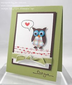 Stampin Up. Owl Punch
