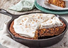 My Favorite Skillet Carrot Cake Recipe - The Ribbon in My Journal - Phyllis Hoffman DePiano