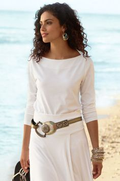 love the belt from Soft Surroundings