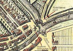 Plattegrond 16e eeuw
