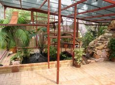 The mother of all cat enclosures! some zoo cats ddont even have it this good. Check out the site and look at ALL the pics to be amazed..WOWZA!