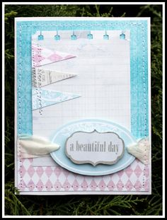 TERESA COLLINS DESIGN TEAM: Sweet Afternoon Card by Sesil Cratin