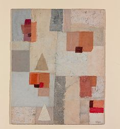 Untitled - 1954,   Anne Ryan - Cut, torn, and pasted papers, fabric and foil on cardboard.