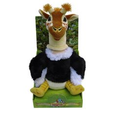 A part of the award-winning Anagranimals range, the Gir-Osti-Duck soft toy combines a giraffe, ostrich and duck to create the super adorable George!