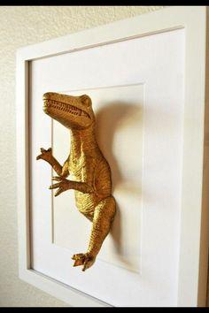 Dinosaur frame