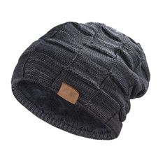 Hat for Men and Women Winter Warm Hats Knit Slouchy Thick Skull Fast Free  Ship   e68667cc178f