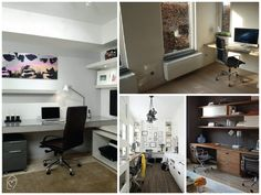 Home office com conforto #homeoffice #office #decor #chair #casadasamigas