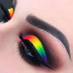 Top 88 Easy Eye Makeup Ideas & Style Pictures Make up Makeup Eye Looks, Beautiful Eye Makeup, Eye Makeup Art, Crazy Makeup, Cute Makeup, Eyeshadow Makeup, Makeup Inspo, Makeup Tips, Makeup Ideas