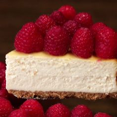 Eat Stop Eat To Loss Weight - Lighter Raspberry Cheesecake - In Just One Day This Simple Strategy Frees You From Complicated Diet Rules - And Eliminates Rebound Weight Gain Just Desserts, Low Fat Desserts, Health Desserts, Baking Recipes, Soup Recipes, Chicken Recipes, Love Food, Sweet Recipes, Easy Recipes