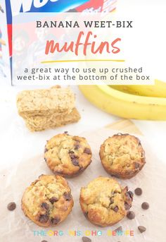 Banana Weet-Bix Muffins - The Organised Housewife