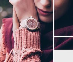 Yours truly shot by @Kyboe Watches. #watch #fashion #sweater #la #sf #pink #cashmere #vsco #design #cuff #sweaterweather #chilly #smile #girly #soft #lipstick #taupe #models #photoshoot #cozy #romantic #editorial #accessories #nordstrom #sanfrancisco #coldweather