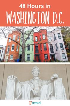 Things to do in Washington DC. Planning your DC family vacation? Here is how to make the most of your time here, whether you have one day or a week.  From exploring Georgetown, to seeing all the monuments and attractions, where to take a break, great places to eat and restaurants with local food, awesome parks and green spaces, and so much more.  Use this guide to plan your DC family vacation with kids! #WashingtonDC #familytravel #DC #USvacation #familyvacation