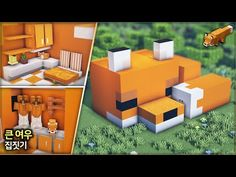 Construction Minecraft, Minecraft Farm, Minecraft Mansion, Minecraft Cottage, Easy Minecraft Houses, Minecraft House Tutorials, Minecraft Plans, Minecraft House Designs, Amazing Minecraft