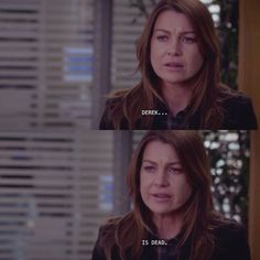 Greys anatomy heartbreaking quotes. Derek is died.