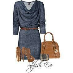 Stylish Eve outfit.