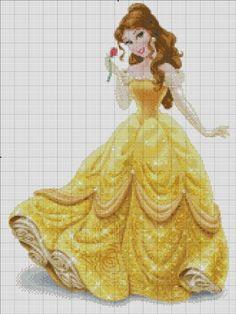 [Disney Princess] Belle by RoseXinh