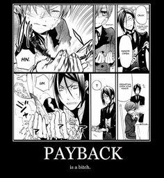 funny thing is, was laughing about this for quite a long time in bed the other day haha, wonder when i will see this bit again haha, just read ciel gave sebby a drink that gave sebby heartburn hahahaha