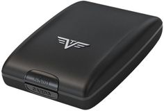 Tru Virtu Cash & Cards Aluminium Wallet - Black Magic - http://omheaven.com/tru-virtu-cash-cards-aluminium-wallet-black-magic/