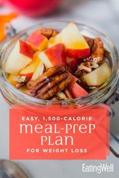 Easy Meal-Prep Plan for Weight Loss mealplan mealprep healthymealplans mealplanning howtomealplan mealplanningguide mealplanideas recipe eatingwell healthy 126663808258587841 Healthy Detox, Healthy Snacks, Healthy Eating, Healthy Recipes, Healthy Weight, Stay Healthy, Easy Recipes, Health Blog, 500 Calorie Meals