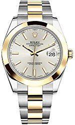 Rolex Datejust 41 126303 Silver Dial Gold & Steel Case & Oyster Bracelet Men's Watch