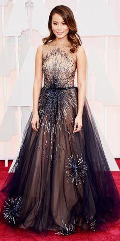 Academy Awards 2015 Red Carpet Arrivals - Jamie Chung