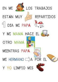 Menta Más Chocolate - RECURSOS PARA EDUCACIÓN INFANTIL: FAMILIA ✿