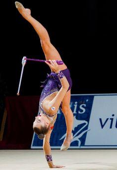 Meltina STANIOUTA (Belarus) ~ Clubs @ GP Thiais 2016 ☘☘Photographer Fanny Cortyl.