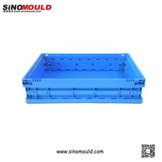 C-serie Foldable Crate, size 600*400*150mm. Welcome to follow and contact us! Email: sino-mould@hotmail.com. Whatsapp: +86 158-5868-5625