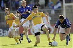 We love and support GAA! Great pic of Antrim vs Cavan Irish football Great Pic, Taekwondo, Black Belt, Irish, The Past, Football, Athletic, Games, Lady