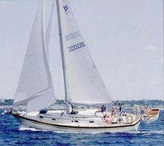 PEARSON 36 CUTTER    Hull Type:Fin with rudder on skegRig Type:Cutter LOA:36.42' / 11.10mLWL:30.00' / 9.14m Beam:11.50' / 3.51mListed SA:599 ft2 / 55.65 m2 Draft (max.)5.50' / 1.68mDraft (min.) Disp.17700 lbs./ 8029 kgs.Ballast:7300 lbs. / 3311 kgs. SA/Disp.:14.16Bal./Disp.:41.24%Disp./Len.:292.66 Designer:William Shaw Builder:Pearson Yachts (USA) Construct.:FGBal. type: First Built:1981Last Built:1982# Built: