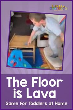 Who loves playing the floor is lava? We do! Check out this easy to set up game using things you have at home. Also you can incorporate shape and pattern into it to follow arches, zig zags, lines and more! A great way to develop those gross motor skills and core strength.. The Floor Is Lava, Games For Toddlers, Gross Motor Skills, Up Game, Learning Through Play, Arches, Core, Strength, Shape