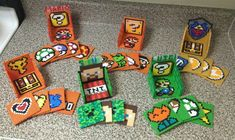 Video Games Perler Coaster Sets by jnjfranklin on deviantART