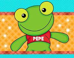 Kit Imprimible Sapo Pepe Invitaciones Tarjetas Cumples Y Mas - $ 34,97