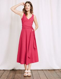 9eb885361c0 Boden Riviera Dress Size UK 18 Red rrp 98 DH076 HH 16  fashion  clothing