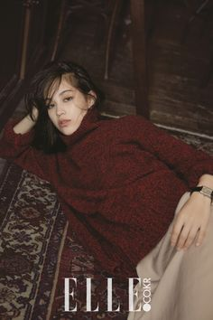 a room of my own — teammizuhara:     Kiko Mizuhara for Elle Korea...