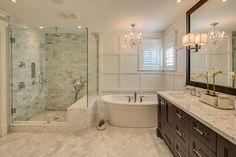 Red hot bathroom remodel | Pinterest | Bathroom designs ...