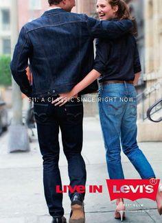 Levis Jeans, Denim, Fashion Banner, Levis 511 Slim, Levi Strauss & Co, Vintage Advertisements, Vintage Ads, Vintage Levis, Jean Outfits