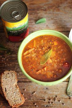 Vegan, Cooking, Ethnic Recipes, Soups, Food, Greece, Kitchen, Essen, Soup