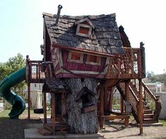 Custom Tree Houses - Custom: Garretville - The ultimate tree house experience for never-ending outdoor play.