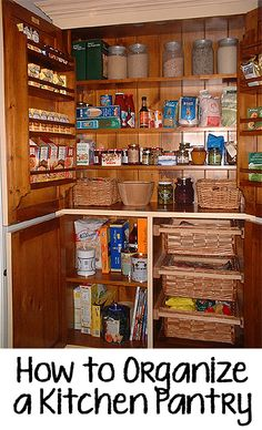 Tips and Tricks for How to Organize a Kitchen Pantry