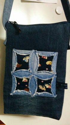 Kleine Jeanstasche