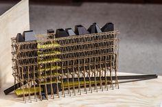 Galería de 'Arquitectura reflexiva' en torno a la madera: 10 arquitectos y estudiantes exhiben sus obras en Puerto Montt, Chile - 32 Maquette Architecture, Wood Architecture, Religious Architecture, Architecture Drawings, Timber Structure, Arch Model, Farmhouse Christmas Decor, Wood Construction, Design Model