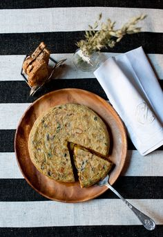 Tortilla de patata y berenjena Cristina Oria