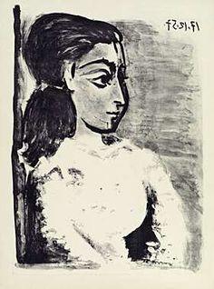 35. Pablo Picasso, Bloch 848, Gauss 731, Mourlot 311, Rau 666