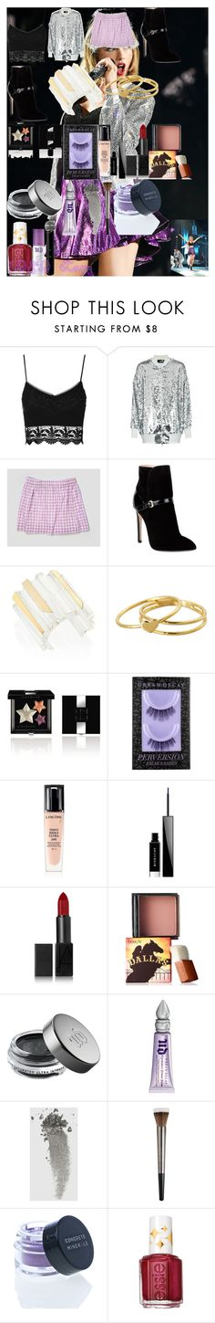 """""""1989 Tour"""" by oroartye-1 on Polyvore featuring Topshop, Love Moschino, J.Crew, Emilio Pucci, Alexis Bittar, Gorjana, Givenchy, Urban Decay, Lancôme and NARS Cosmetics"""