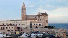 Romanesque Cathedral by the Sea in Trani, a pretty town in Puglia.