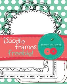 Doodle Frames - Freebie - Commercial Use