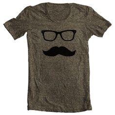 Mustache Wayfarer Men's Women's