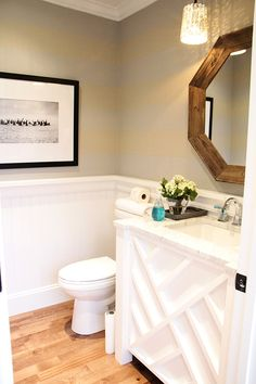 Wall color and wainscoting